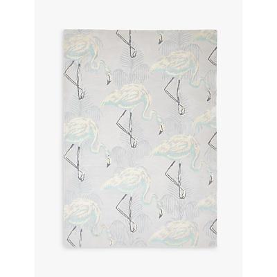 Wendy Morrison for John Lewis Flamingo Fern Rug, L240 x W170cm