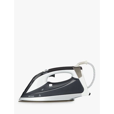 Buy John Lewis Power Steam Iron, Grey Online at johnlewis.com