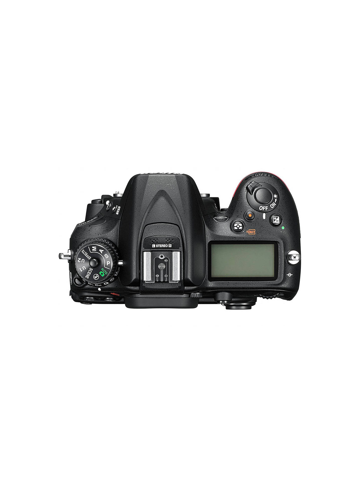 "BuyNikon D7200 DSLR Camera, 24.2 MP, HD 1080p, Built-in Wi-Fi, NFC, 3.2"" LCD Screen, Body Only Online at johnlewis.com"