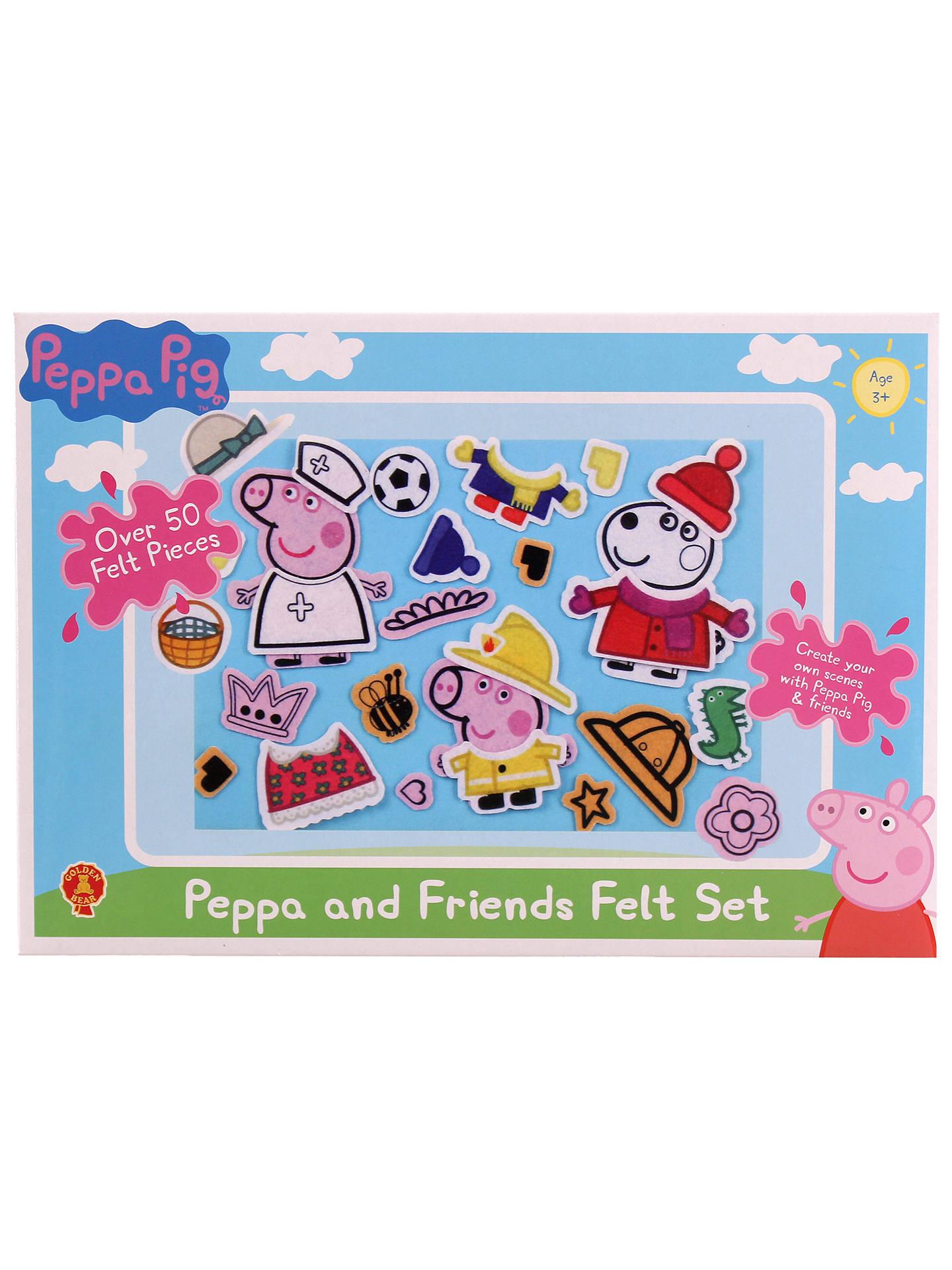 Peppa Pig Hut und Handschuhe Set