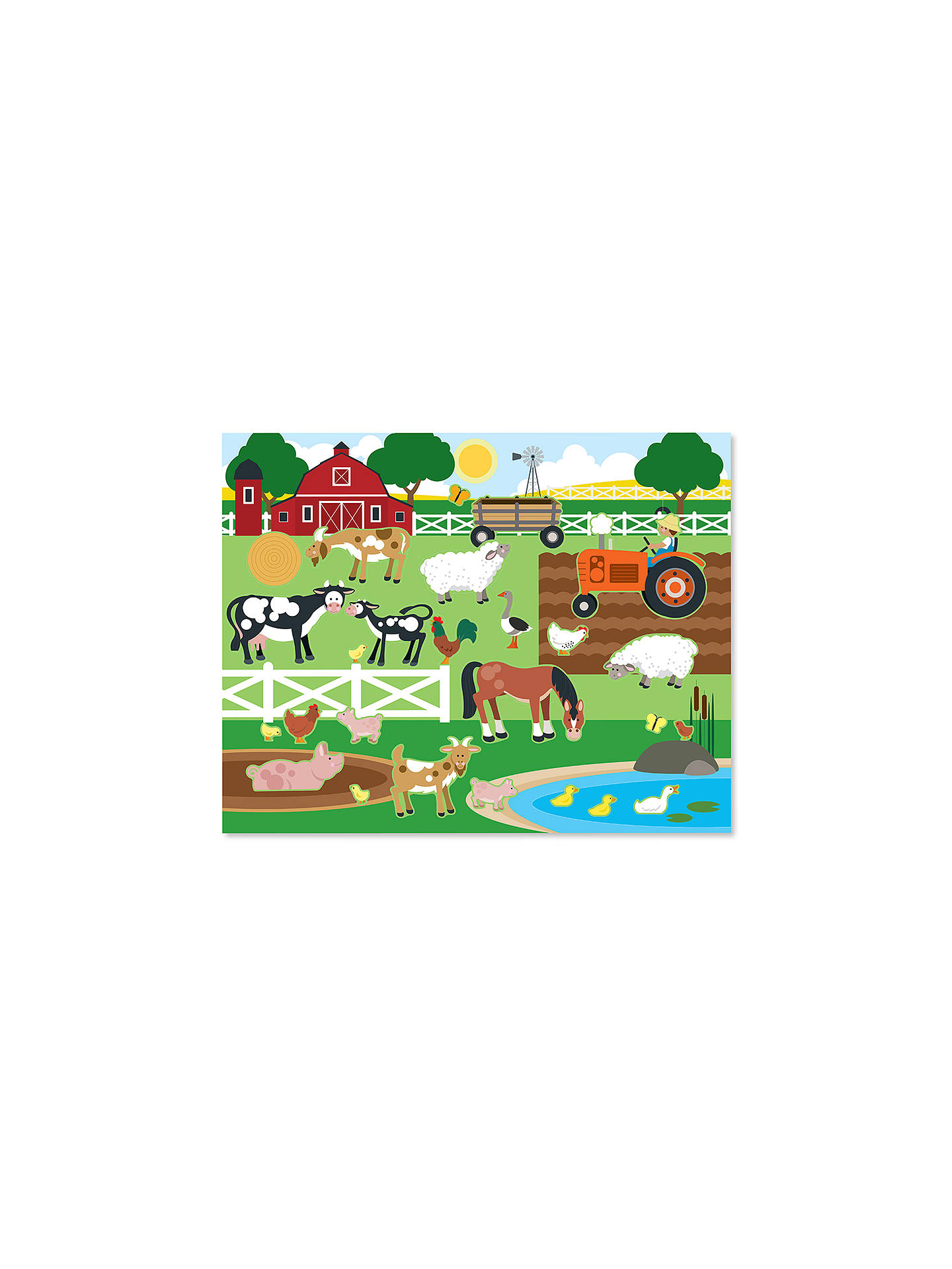 Melissa Doug Habitats Reusable Sticker Pad