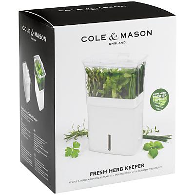Cole & Mason Fresh Cut Herb Keeper