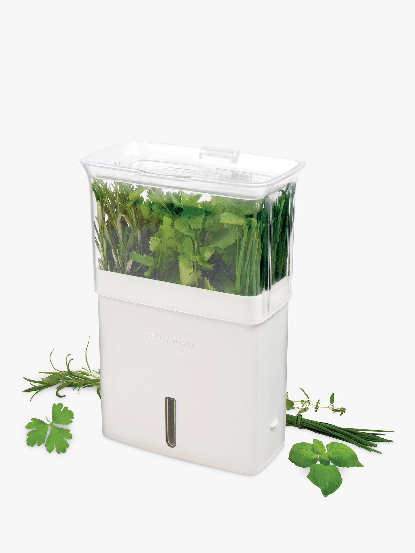 Buy Cole & Mason Fresh Cut Herb Keeper Online at johnlewis.com