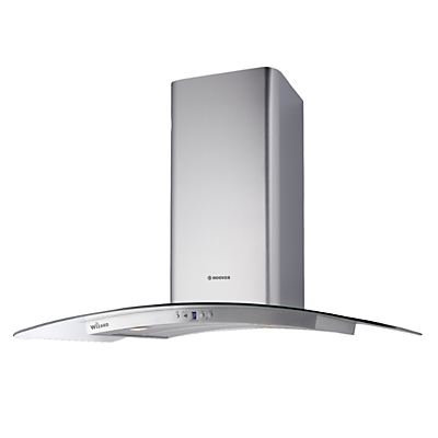 Image of Hoover HHV97SLX WIFI Stainless steel Chimney Cooker hood (W) 900mm