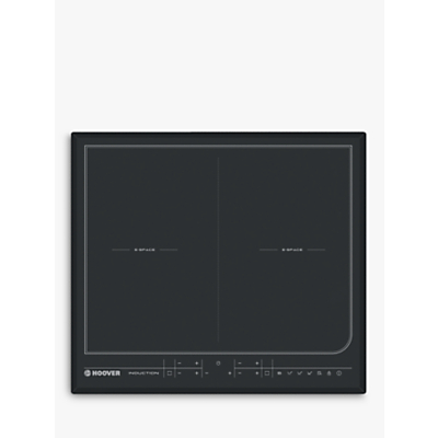 Image of Hoover HESD4 WIFI 4 burner Black Glass Electric Induction hob
