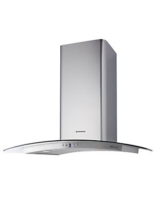 Hoover Wizard HHV67SLX Built-In Wi-Fi Cooker Hood, Stainless Steel