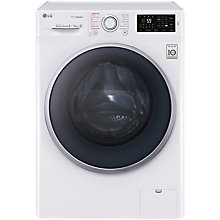 Buy LG FH4U2TDH1N Freestanding Washer Dryer, 8kg Wash/5kg Dry Load, A Energy Rating, 1400rpm Spin, White Online at johnlewis.com