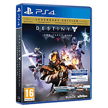 Buy Destiny: The Taken King, Legendary Edition, PS4 Online at johnlewis.com