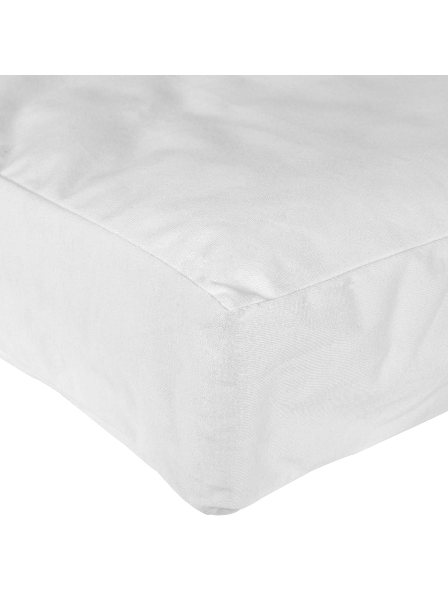BuyJohn Lewis & Partners Micro-Fresh Anti Allergy Cot Mattress Protector Online at johnlewis.com