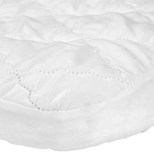 Buy John Lewis Micro-Fresh Easy Care Crib Mattress Protector Online at johnlewis.com