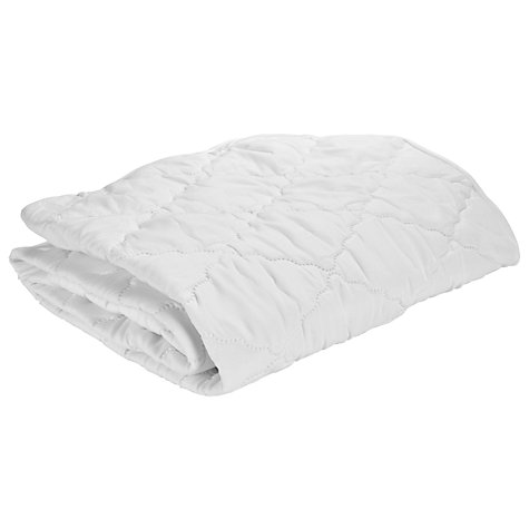 John Lewis Micro Fresh Easy Care Cot Mattress Protector Online At Johnlewis