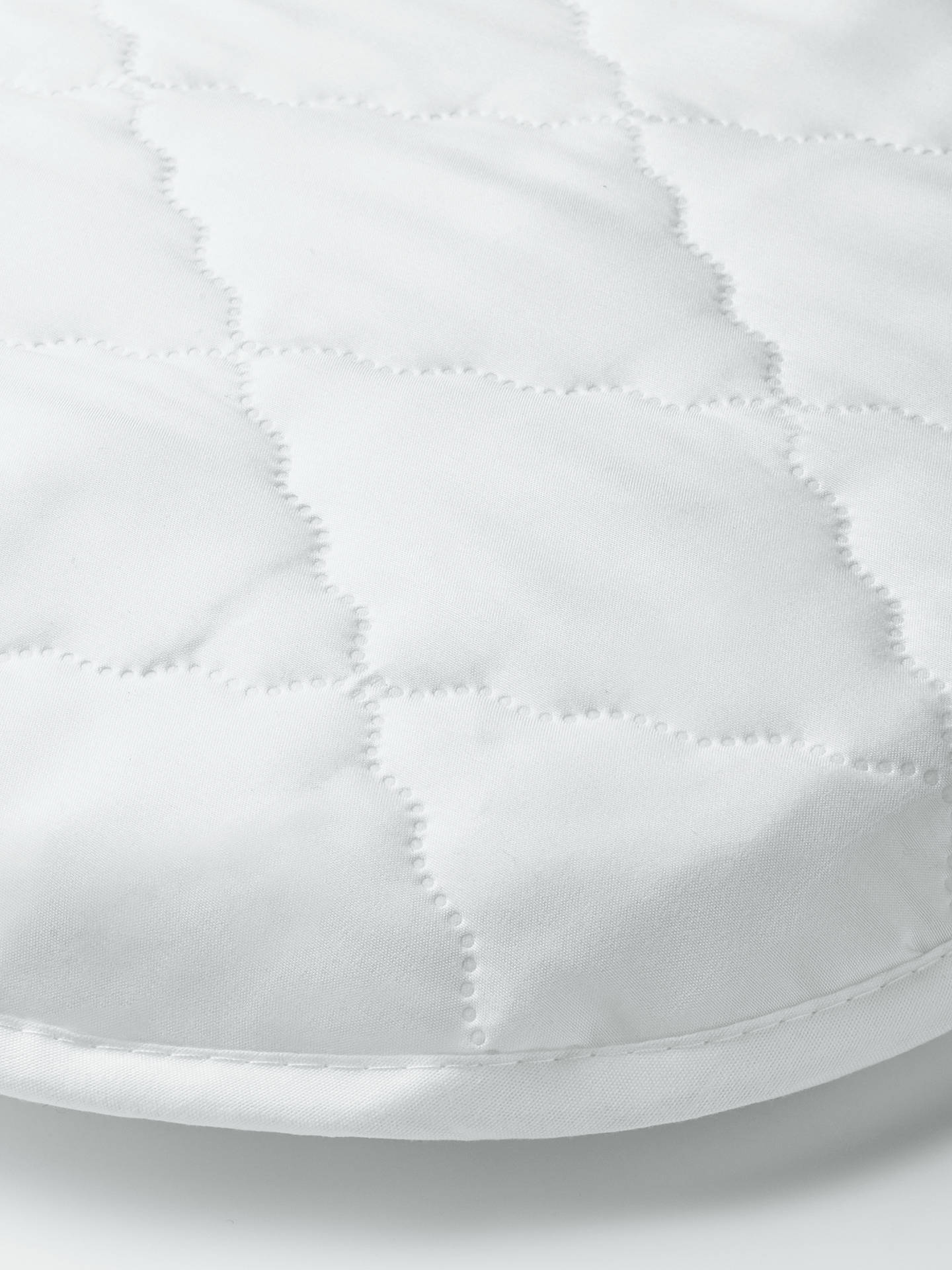 Buy John Lewis & Partners Micro-Fresh Easy Care Waterproof Moses Basket Mattress Protector Online at johnlewis.com