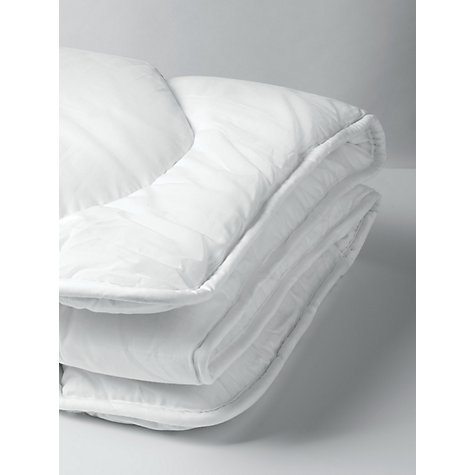 John Lewis Micro Fresh Anti Allergy Cotbed Duvet 7 Tog Online At Johnlewis