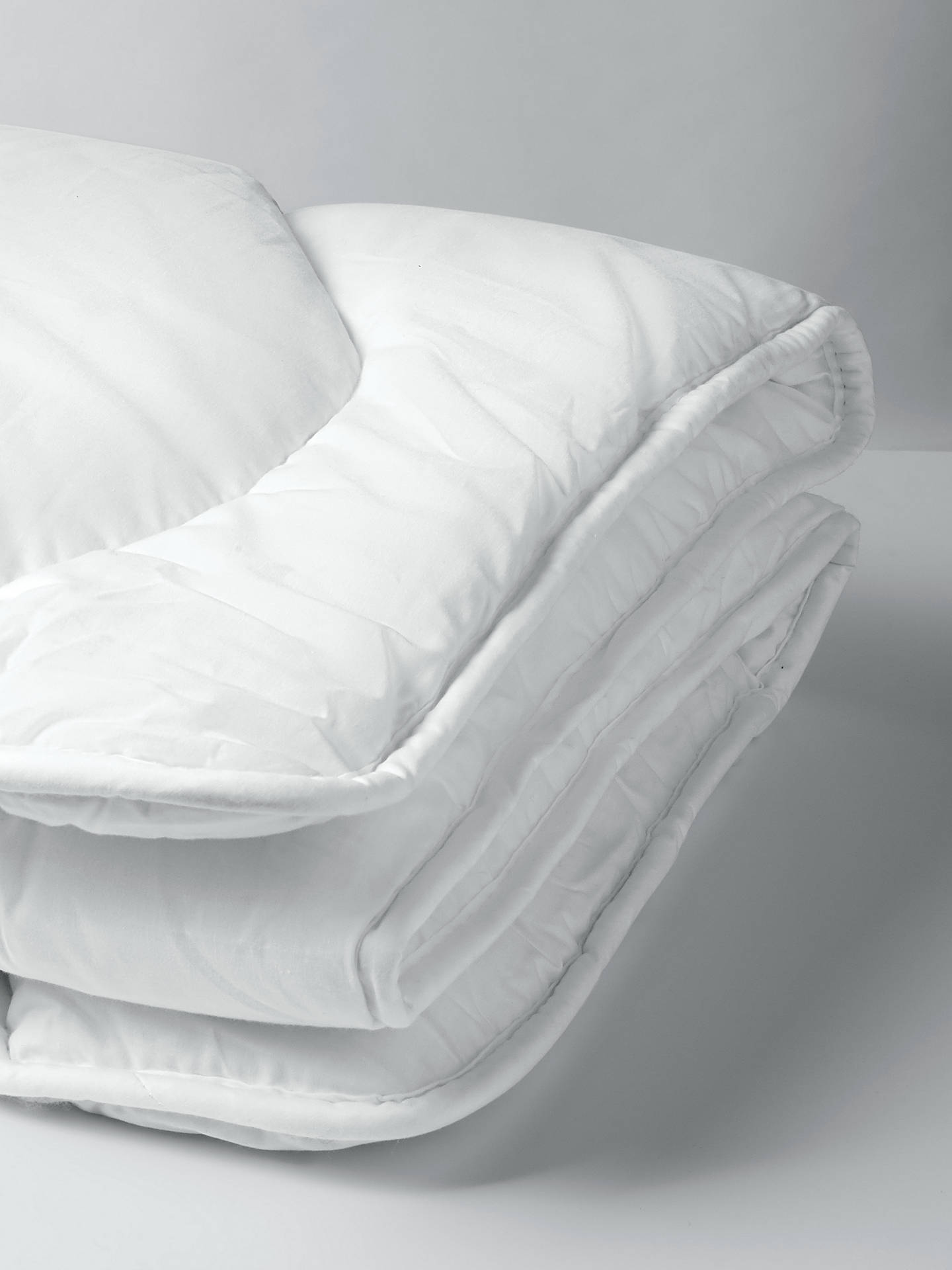 Buy John Lewis & Partners Micro-Fresh Anti Allergy Cotbed Duvet, 7 Tog Online at johnlewis.com