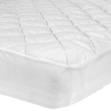 Buy John Lewis Micro-Fresh Velour Cotbed Mattress Protector Online at johnlewis.com