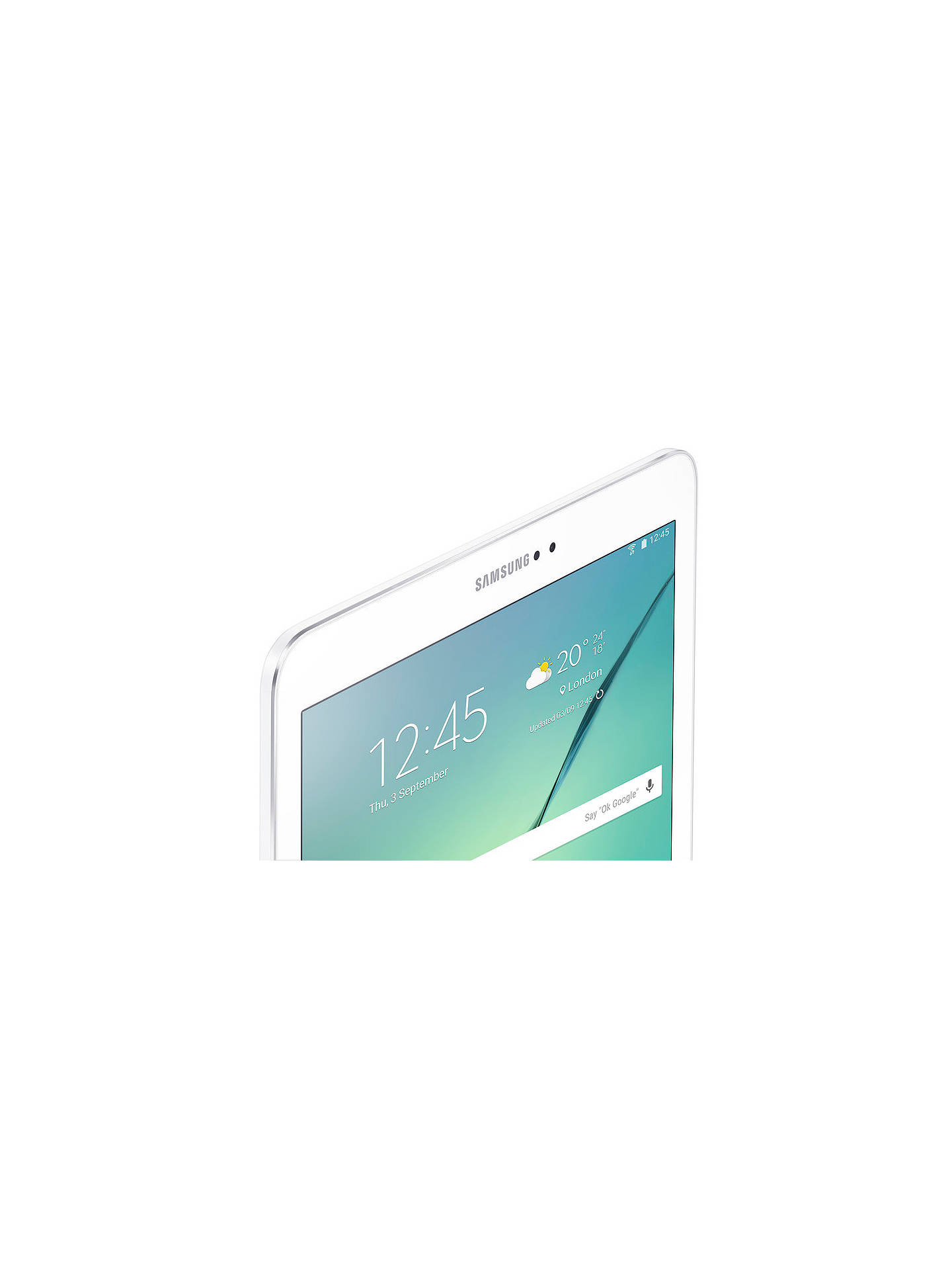 "BuySamsung Galaxy Tab S2, Octa-core Exynos, Android, 9.7"", Wi-Fi, 32GB, White Online at johnlewis.com"