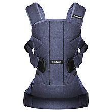 Buy BabyBjörn One Baby Carrier, Blue Online at johnlewis.com