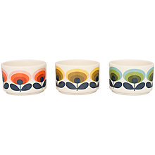 Buy Orla Kiely Flower Ramekins, Set of 3 Online at johnlewis.com