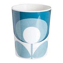 Buy Orla Kiely Flower Melamine Tumbler, Blue Online at johnlewis.com