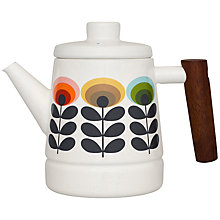 Buy Orla Kiely Teapot, 70s Flower, Multi Online at johnlewis.com