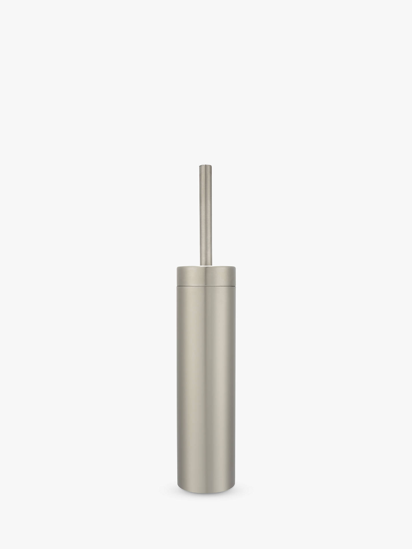 23a2de40950a Buy John Lewis Slim 18/8 304 Stainless Steel Toilet Brush and Holder Online  at ...