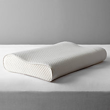 Buy John Lewis Specialist Synthetic 2-Way Memory Foam Support Pillow, Medium/Firm Online at johnlewis.com