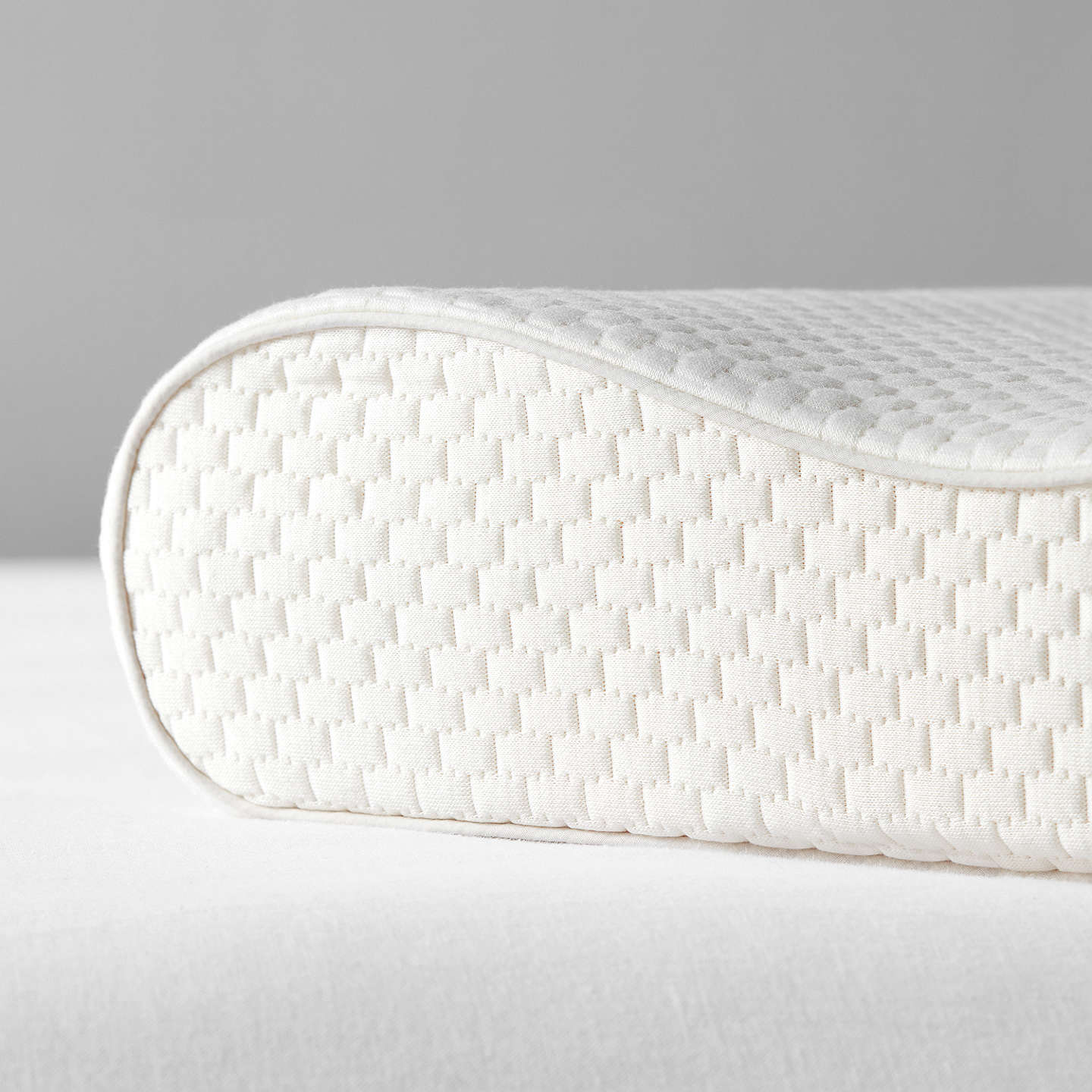 BuyJohn Lewis Specialist Synthetic 2-Way Memory Foam Support Pillow, Medium/Firm Online at johnlewis.com