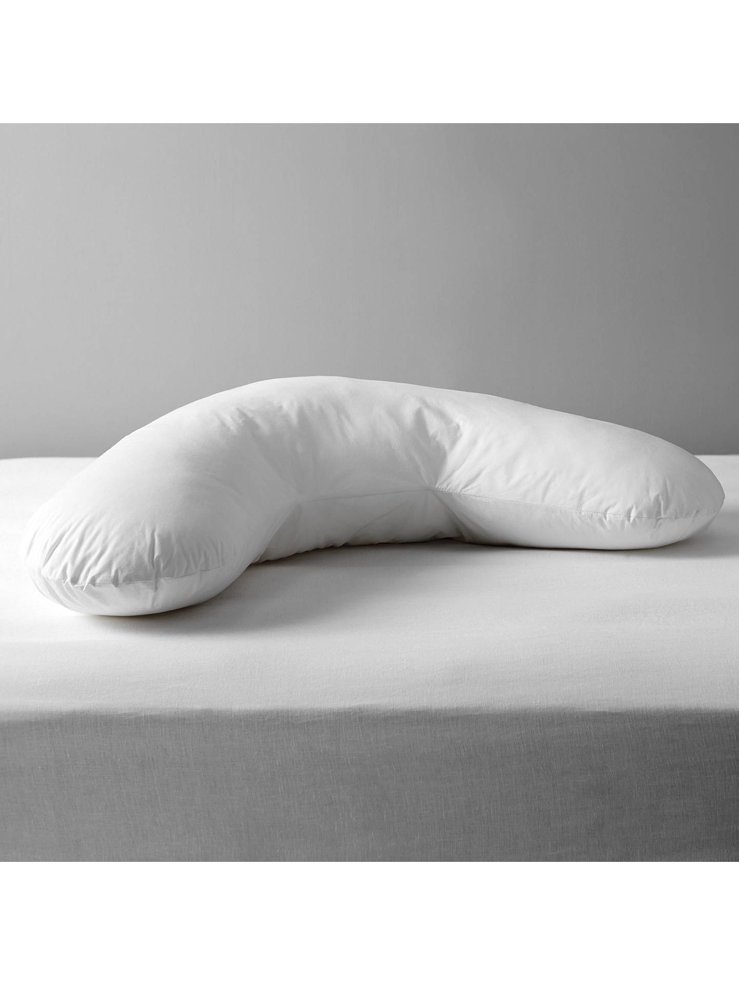 Buy John Lewis & Partners Specialist Synthetic V-Shaped Support Pillow Online at johnlewis.com