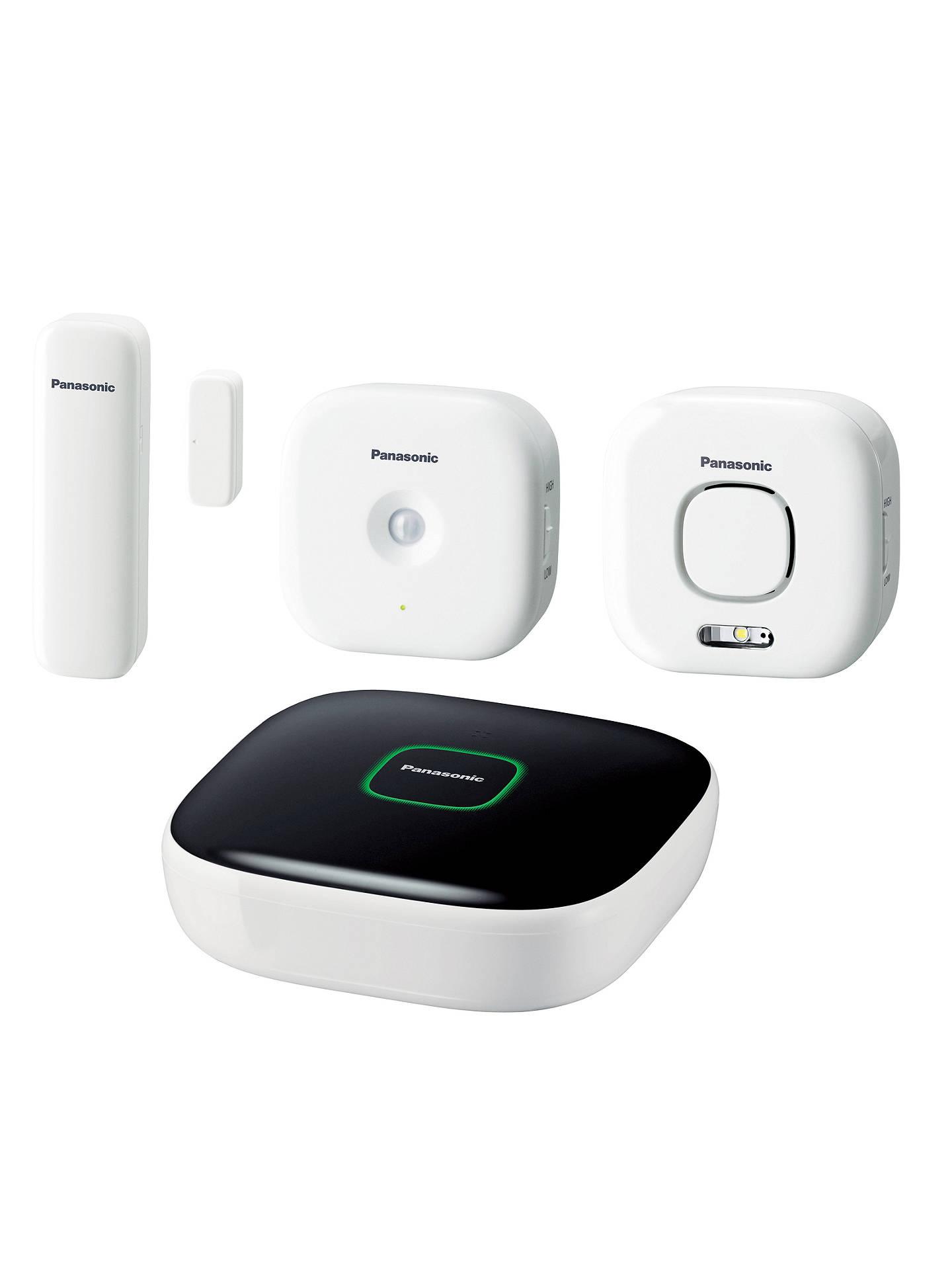 Panasonic Home Safety Starter Kit Plus At John Lewis