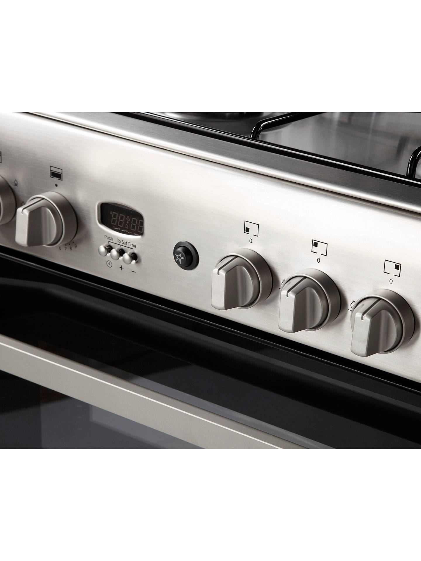 Buy Indesit ID60G2X Gas Cooker, Stainless Steel Online at johnlewis.com