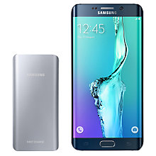 "Buy Samsung Galaxy S6 Edge + Smartphone, Android, 5.7"", 4G LTE, SIM Free, 32GB Online at johnlewis.com"