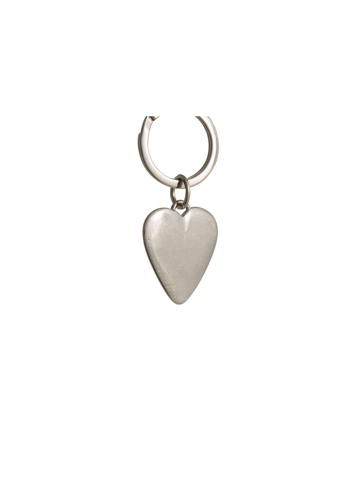 BuyLancaster and Gibbings Heart Pewter Keyring Online at johnlewis.com