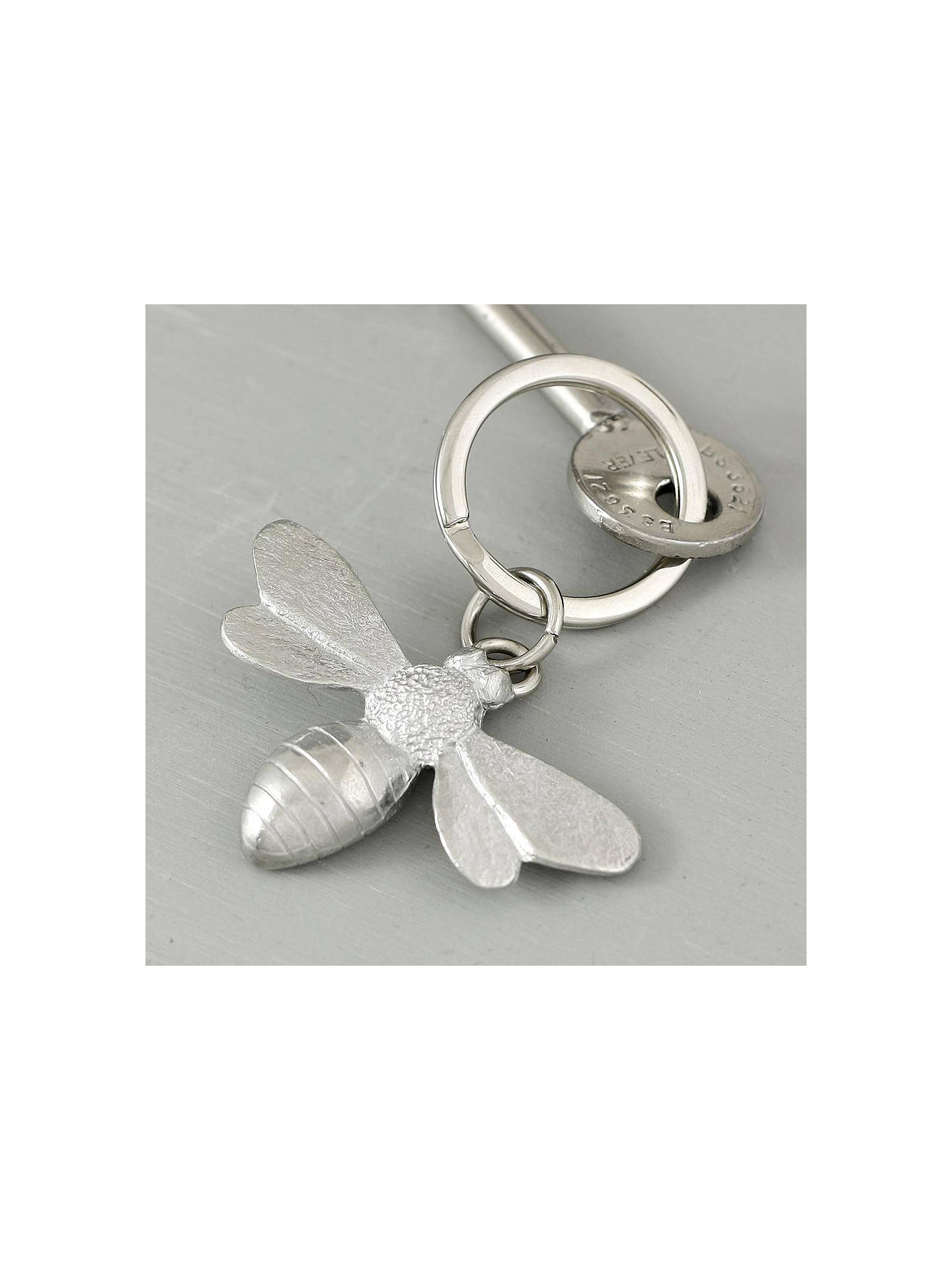Buy Lancaster and Gibbings Bee Pewter Keyring Online at johnlewis.com