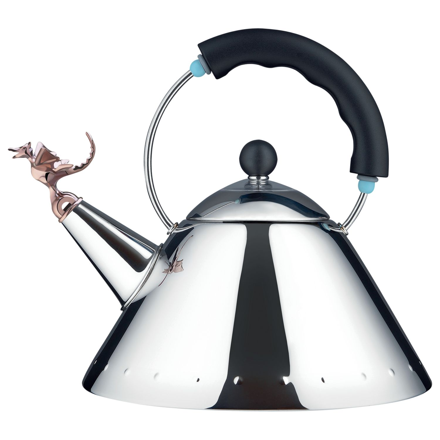 Buy Alessi Tea Rex Hob Kettle with Dragon Whistle Online at johnlewis.com