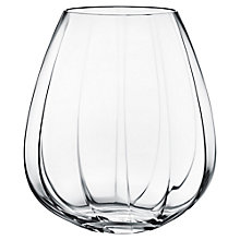 Buy Georg Jensen Faceted Glass Vase, Large Online at johnlewis.com
