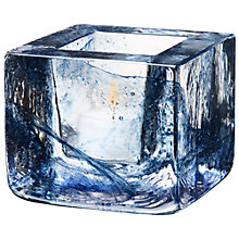 Buy Kosta Boda Brick Votive Candle Holder Online at johnlewis.com