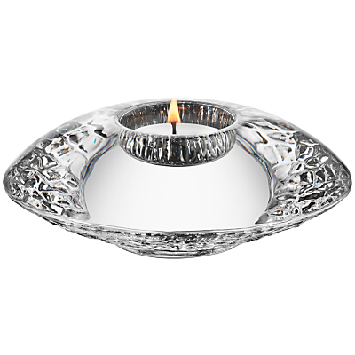 Orrefors Discus Votive Candle Holder