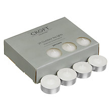 Buy John Lewis Croft Collection Tealights, Pack of 24 Online at johnlewis.com