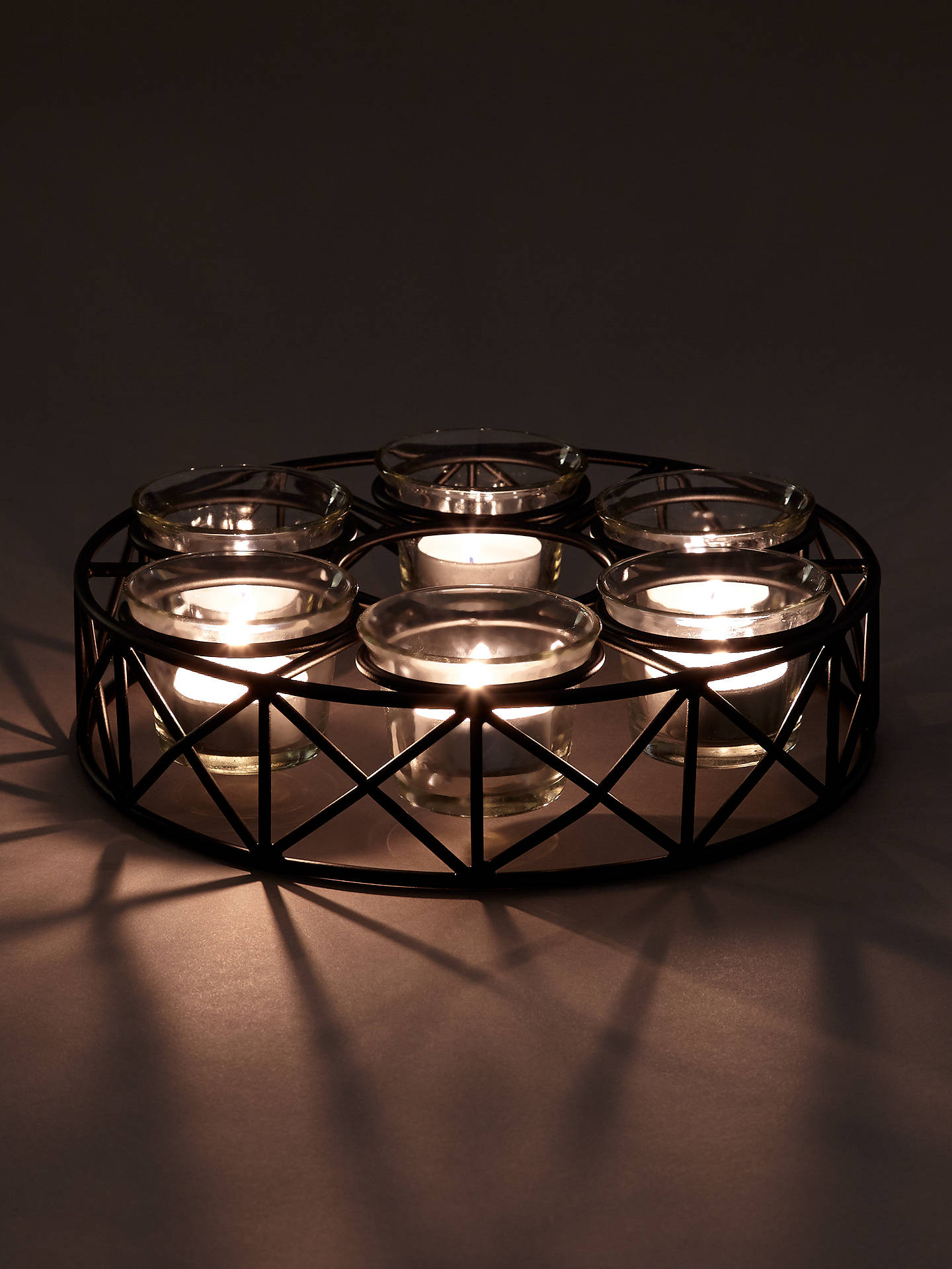 Buy John Lewis & Partners Parasol Tealight Holder Online at johnlewis.com