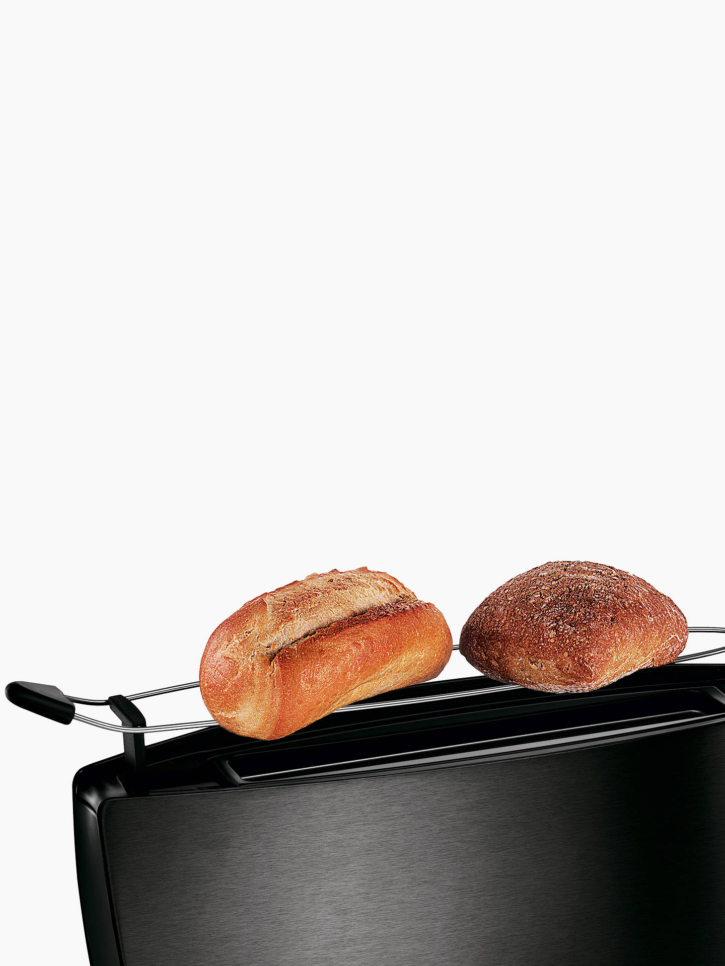 Bosch Tat6805gb 2 Slice Long Slot Toaster Anthracite At