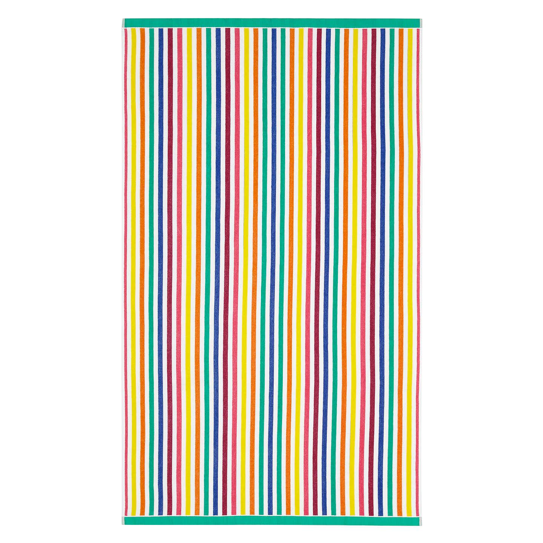 Beach Towel Online: John Lewis Multi Stripe Beach Towel At John Lewis