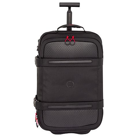 Buy Delsey Montsouris 2-Wheel 55cm Cabin Suitcase, Black | John Lewis