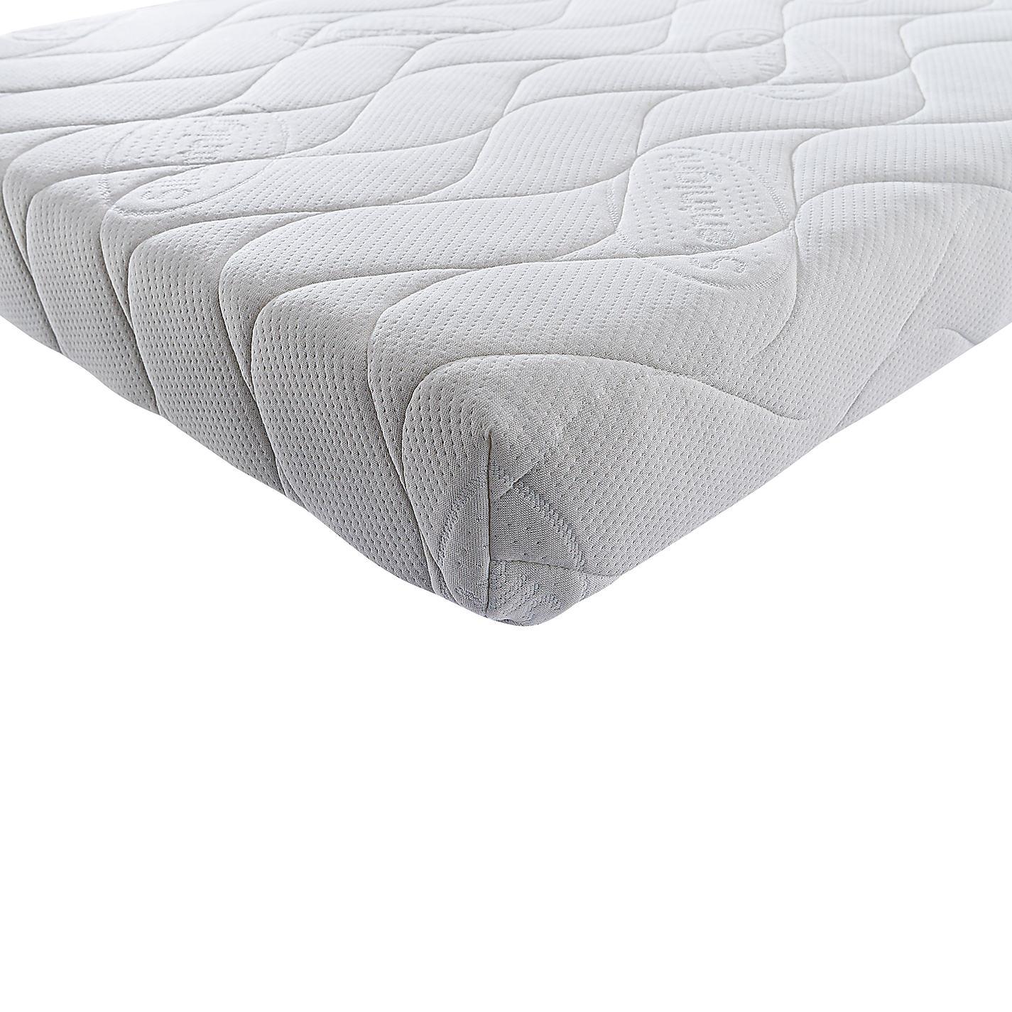Silentnight Safe Nights Memory Wool Baby Cotbed Mattress 140 X 70cm Online At Johnlewis