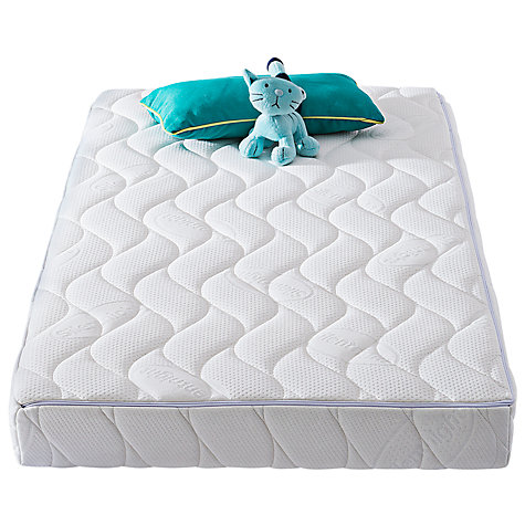 Silentnight Safe Nights Memory Wool Baby Cotbed Mattress 140 X 70cm Online At Johnlewis
