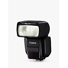 Buy Canon Speedlight 430 EX III-RT External Flash With Remote Flash & LCD Screen Online at johnlewis.com