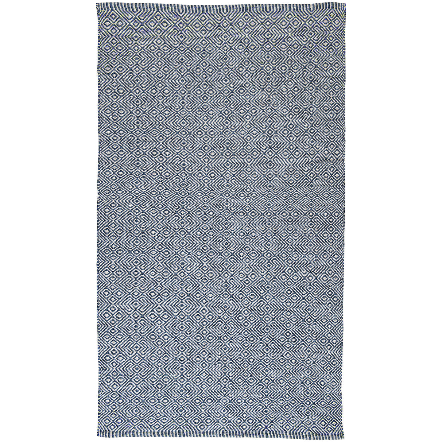 Weaver Green Provence Collection Washable Outdoor Rug Navy L110 X W60cm Online At Johnlewis