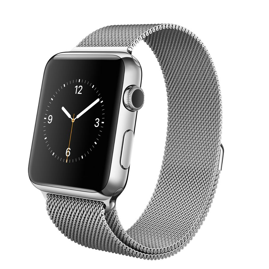 93dbcdbcf72 Apple Watch with 42mm Stainless Steel Case & Milanese Loop at John Lewis &  Partners