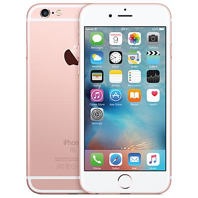 Apple iPhone 6s, iOS, 4.7, 4G LTE, SIM Free, 128GB