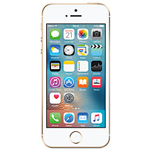 "Buy Apple iPhone SE, iOS, 4"", 4G LTE, SIM Free, 16GB Online at johnlewis.com"