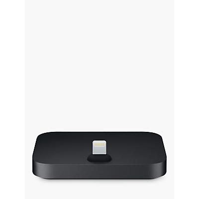 Image of Apple iPhone Lightning Dock, Black